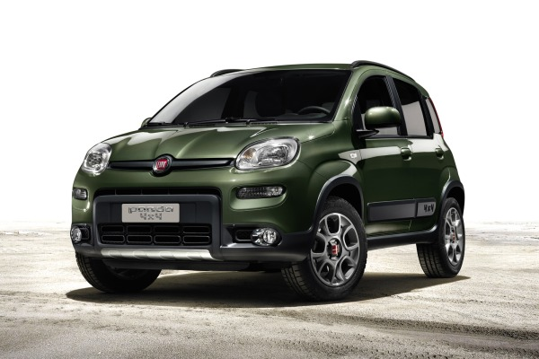 Fiat's New 2013 Panda 4x4 and Panda Trekking