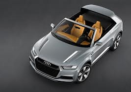 AUDI CROSSLANE COUPE CONCEPT MAKES ITS PARIS SHOW DEBUT
