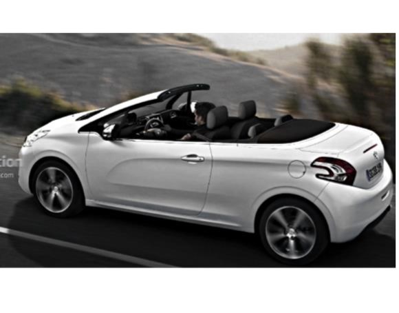 peugeot 208 cabriolet coming in 2015 with fabric roof Моржи клуб